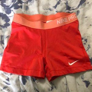 NIKE PRO dri fit shorts